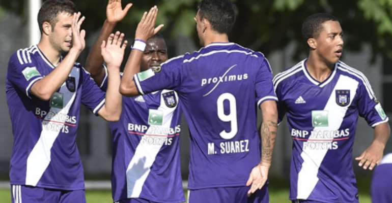Ghana winger Frank Acheampong hits brace to hand Anderlecht victory Dynamo Kiev in friendly