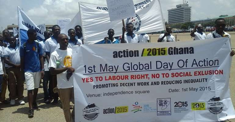 May Day: Promoting Decent Work And Reducing Inequality