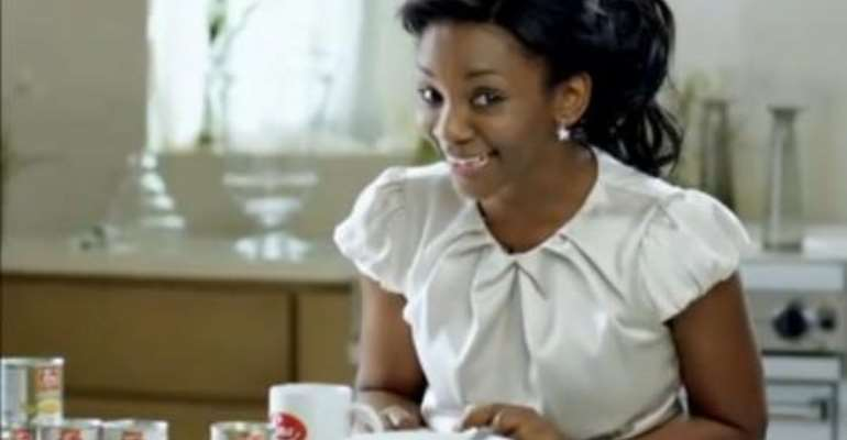 "Genevieve Nnaji features in Luna Milk's ""Grow & Shine"" TV, Print & Billboard Ad Campaign"