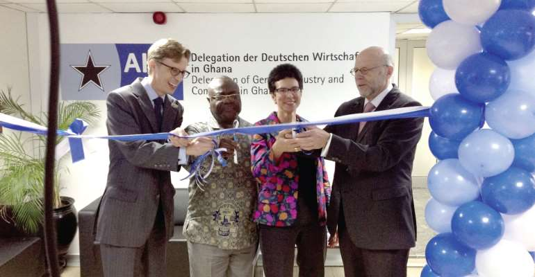 Ghana to be focal point of business for German private sector