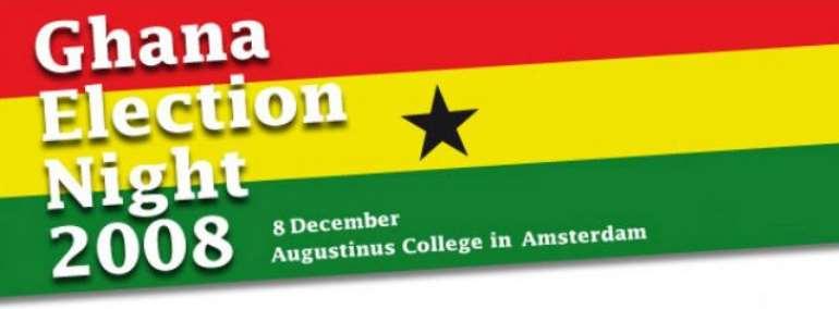 Ghana Election Night 2008