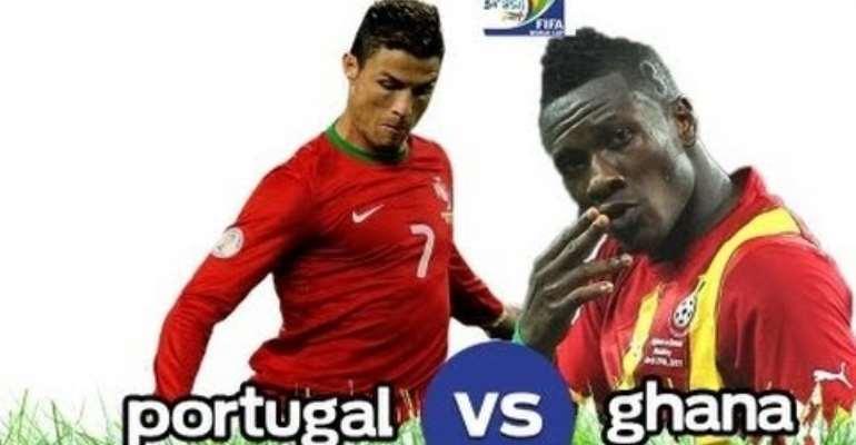 LIVE UPDATES: Portugal 0-0 Ghana