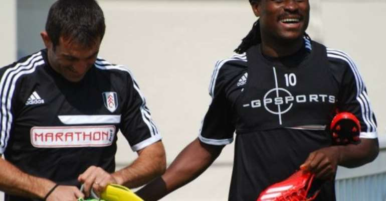 Ghana midfielder Derek Boateng has fallen down the pecking order Fulham