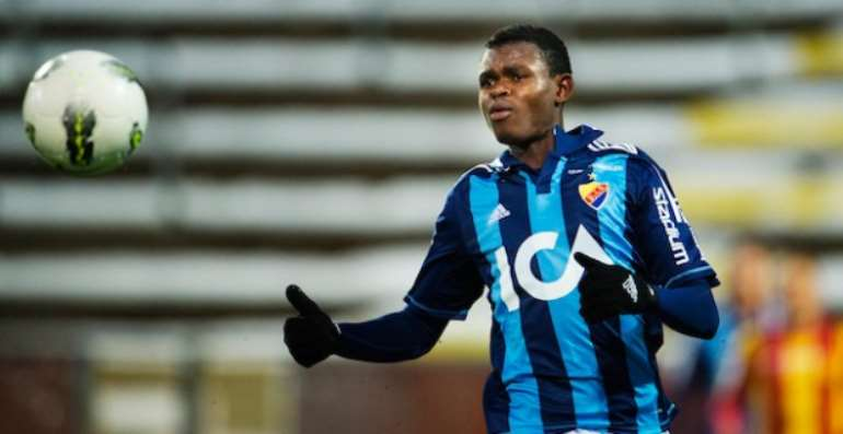 Ghanaian youngster Godsway Donyoh