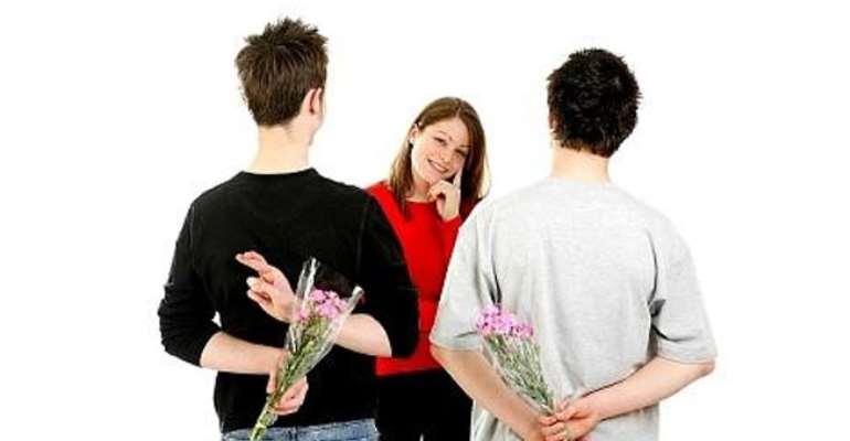 girls admiring guys