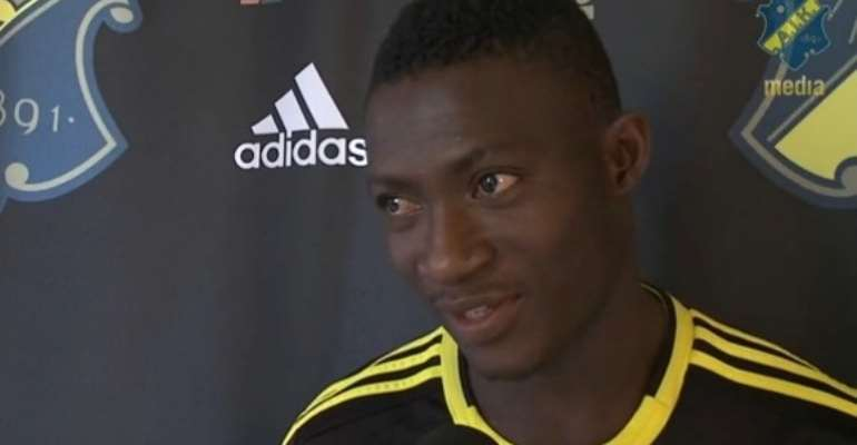 Ibrahim Moro was in top form for AIK on the final day of competition.