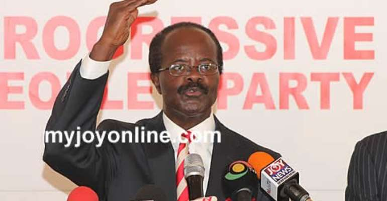 Nduom to proffer solutions to Ghana's economic crisis on July 28