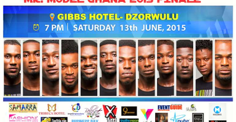 All Set For Grand Finale Of Mr. Model Ghana 2015