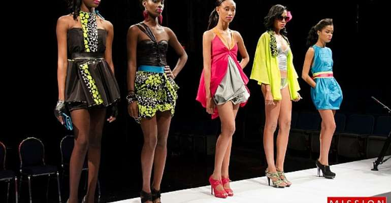 Barbados' Kesia Estwick Wins Her First Mission Catwalk Challenge