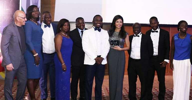Ghana Telecom Awards - Tigo wins Innovative Product, CSR and the CEO Acknowledged