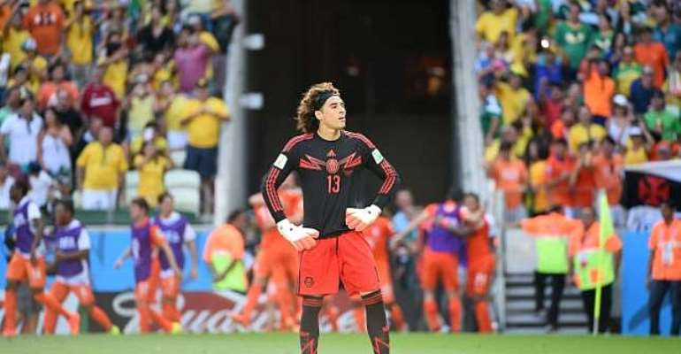 Mexico goalkeeper Guillermo Ochoa upbeat despite cruel last-16 loss to the Netherlands