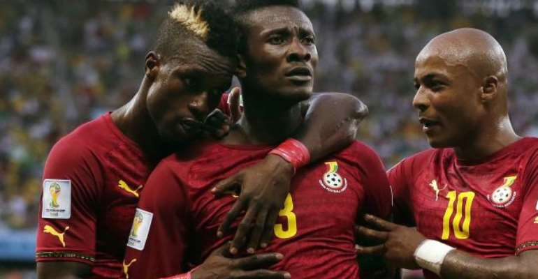 World Cup 2014: Asamoah Gyan does everything his way but Ghana could not do without him