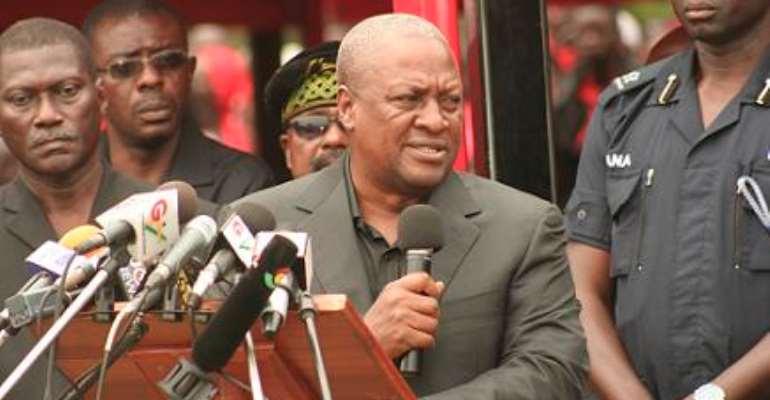 C/R NDC pledges  support for  Mahama