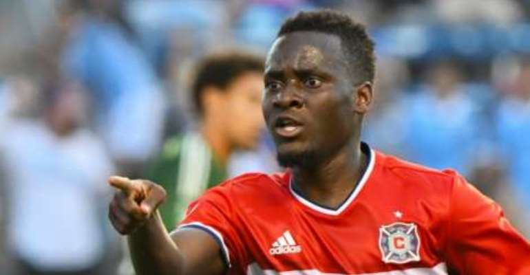 David Accam: Ghanaian player saves Chicago Fire's blushes in US Open Cup