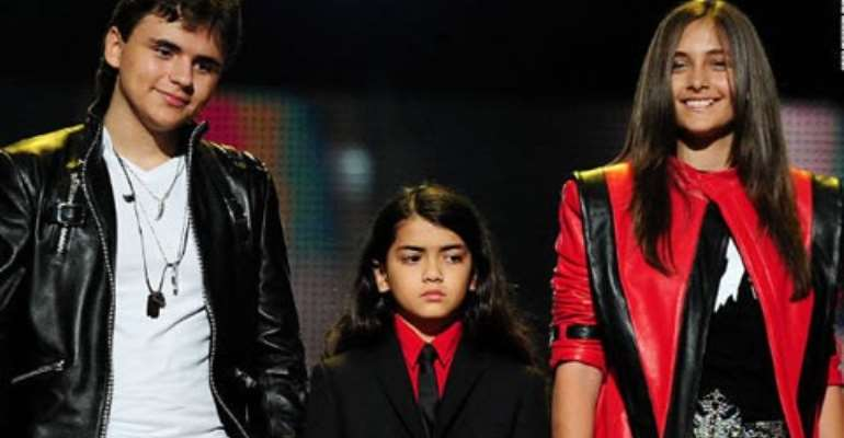 Michael Jackson's three children Prince, Blanket and Paris Jackson, have been more public in recent months