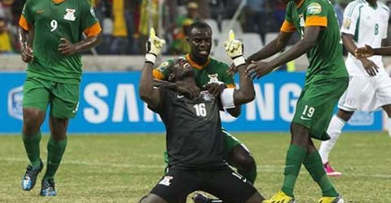 Zambian national team abort flight to Ghana