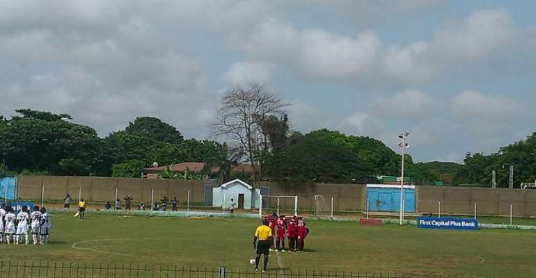 Heart of Lions squaring up with Liberty Professionals – Photograph: Heart Of Lions Twitter Official Page