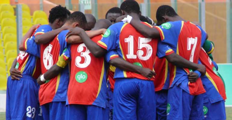Hearts clear air on CAF Champions League incentive package