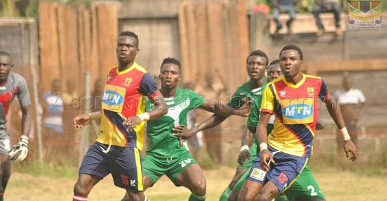 MTN FA Cup - Match Report: Samartex FC 0-0 (4-3) Hearts of Oak - Phobians eliminated by resilient second-tier side