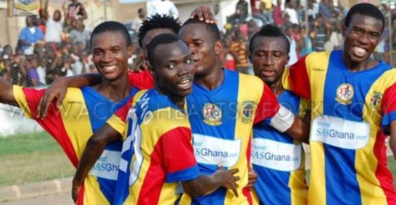 Hearts of Oak close to money zone of Confed Cup