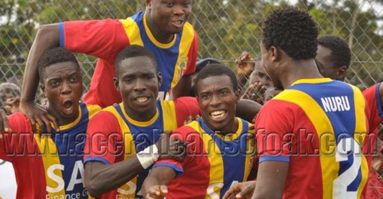 Hearts of Oak beat Aduana Stars on Saturday