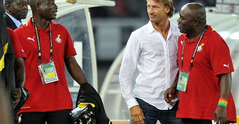 Herve Renard is backing Ghana to go past Egypt