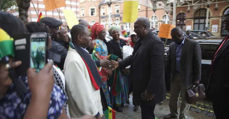 President Mahama admits: Systems are weak in Ghana