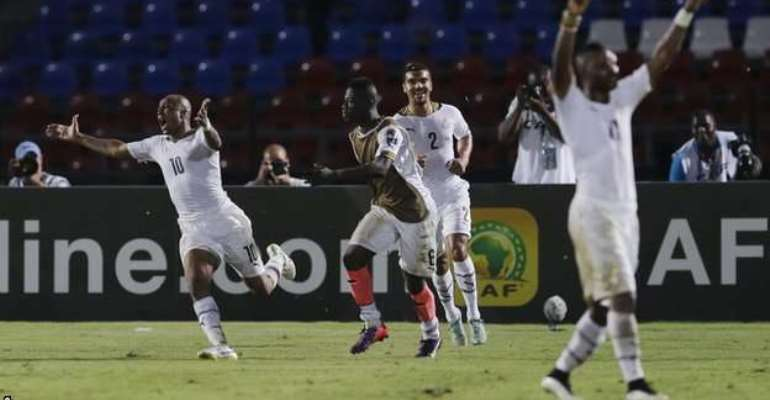 Bravado extraordinaire: Dede Ayew earns all the plaudits for 'super' goal
