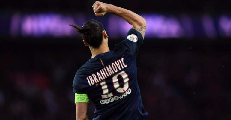Zlatan Ibrahimovic bids farewell to PSG with French Cup win