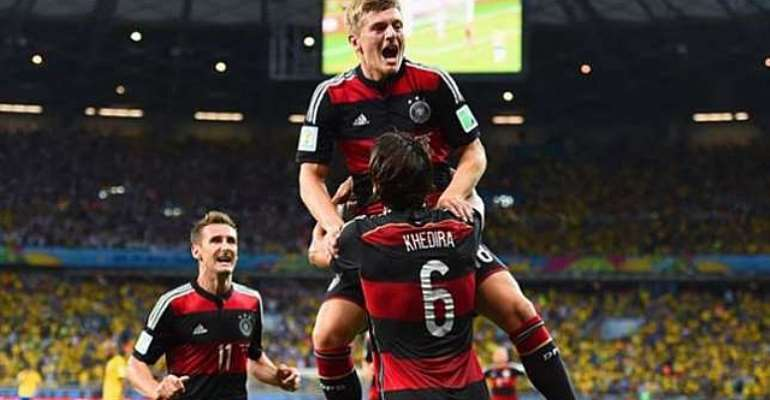 Statistics based: Toni Kroos rated best player in Brazil 2014