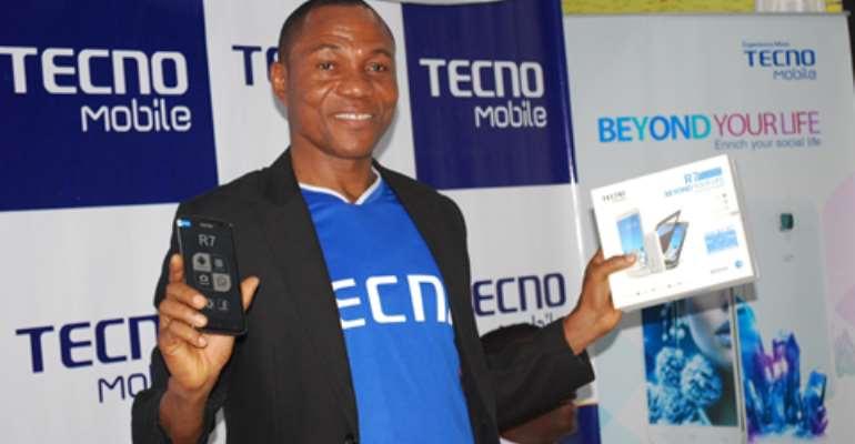 TECNO launches new stylish Smartphone R7