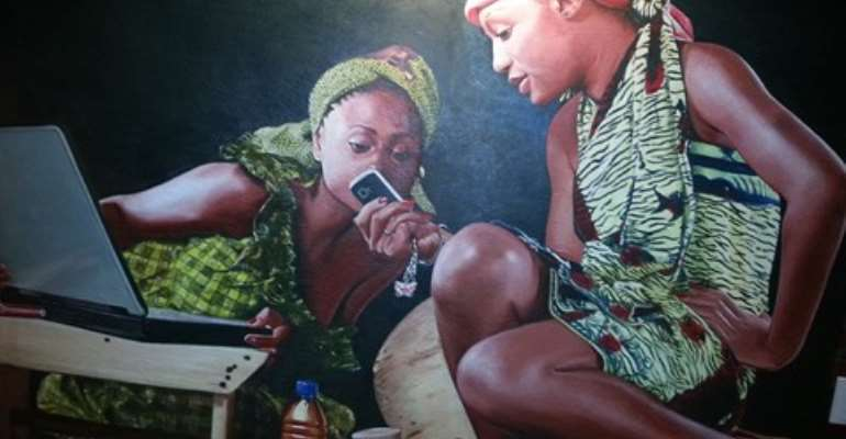 Ghanaian artists show off classy works at Kaleidoscope