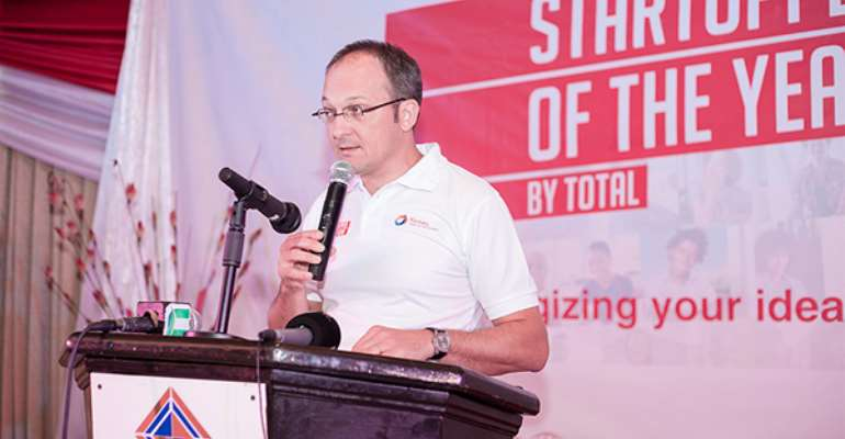 """Total Petroleum Ghana climaxes maiden """"Startupper of the Year"""" Contest"""