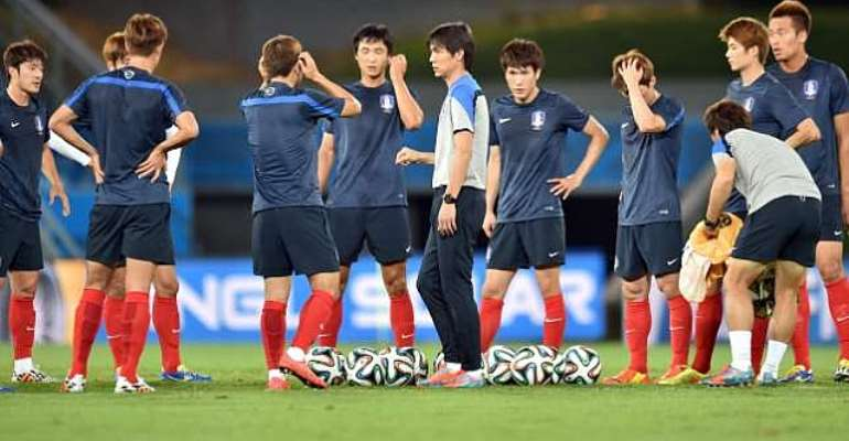 Red Devils on the defensive: South Korea's Hong Myung-bo hints at defensive focus against Russia