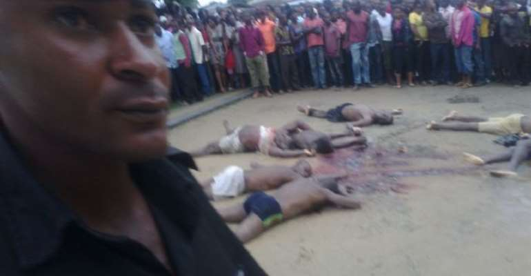 POLICE KILL SEVEN ALLEGED KIDNAPPERS IN AKWA IBOM