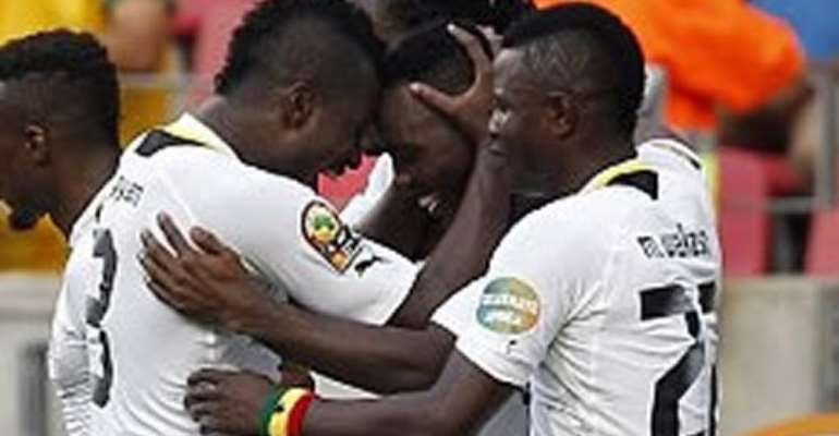 Video: Goals from Ghana vrs Zambia World Cup Qualifier
