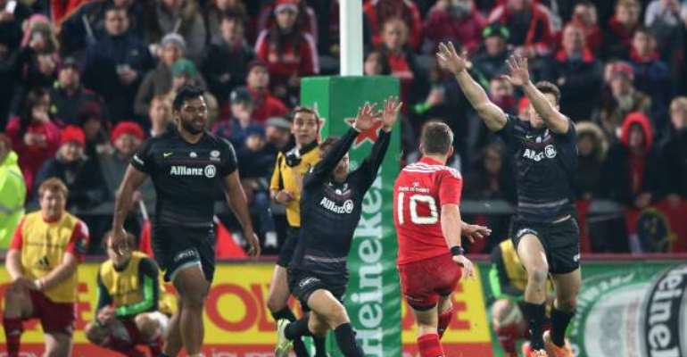 European Rugby Champions Cup: Munster battle past Saracens