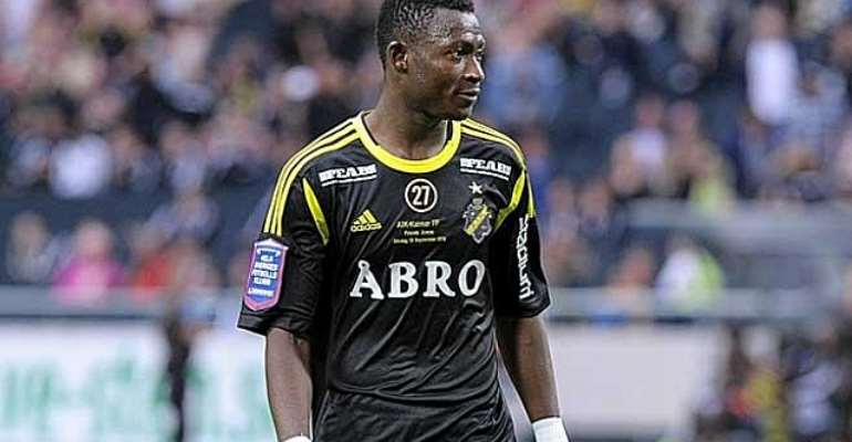 Moro Ibrahim: Ghanaian midfielder comes in for criticism after AIK home defeat