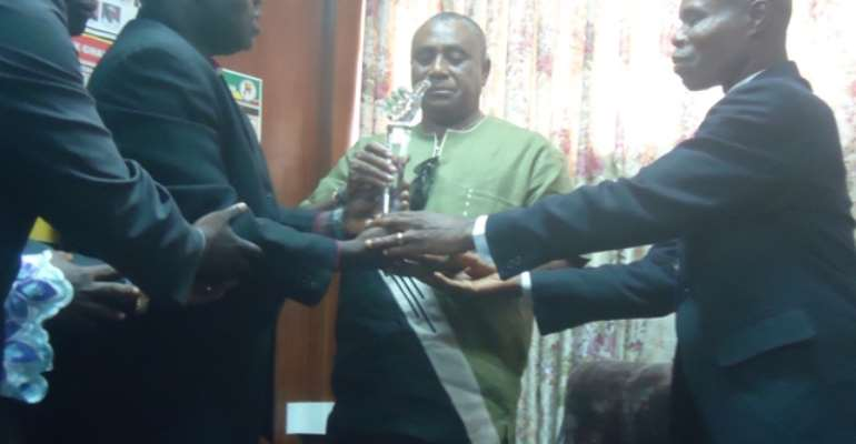 ICA honors Volta Regional Minister for his management of the Hohoe crisis