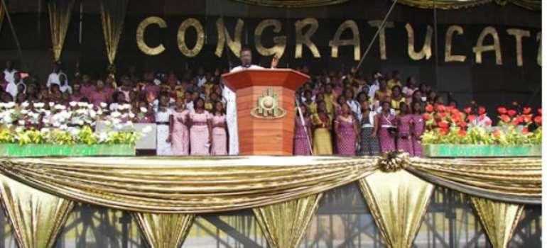 Congratulations, Dr Mensah Otabil