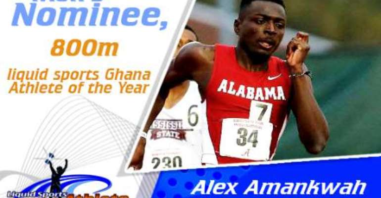 Amankwah and others nominated for Athlete of the Year Award