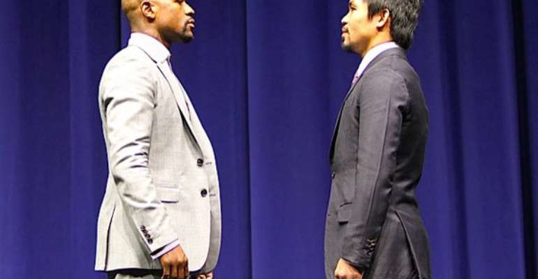 Sites sued for intending to steal Mayweather-Pacquiao fight feed