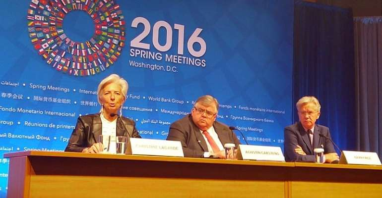 Use flexible exchange rate regime as shock absorber to commodity price drop – IMF boss advises
