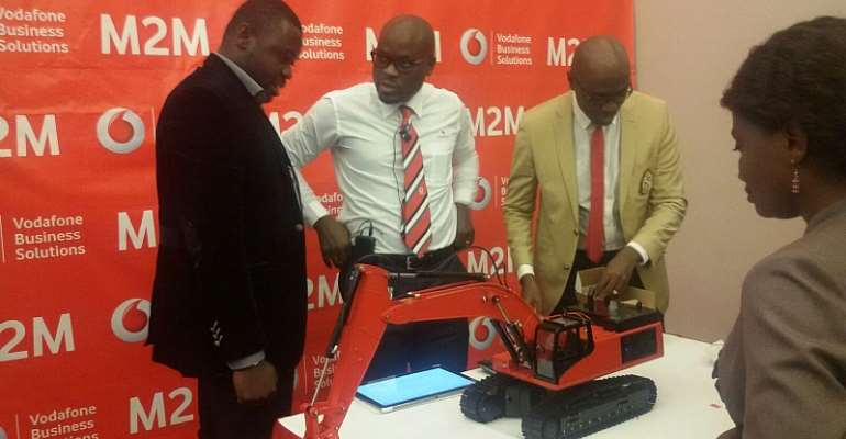 """Vodafone Launches """"M2m"""" To Transform The World Of Work In Ghana"""
