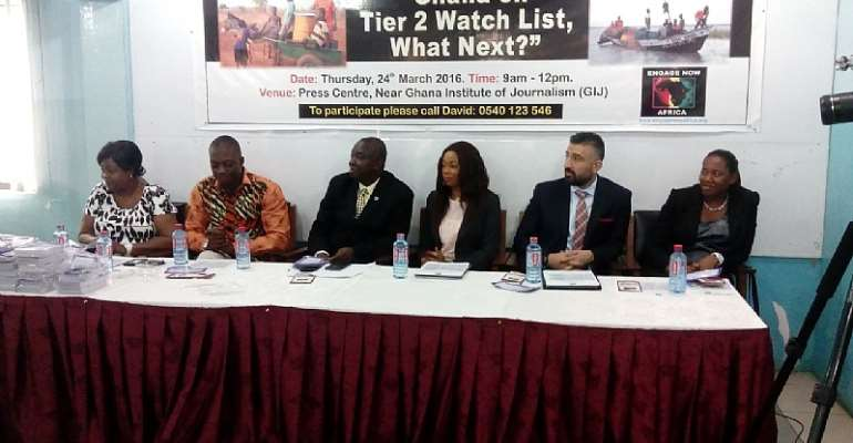 Gov't Must Show Commitment In The Fight Against Human Trafficking-NGO