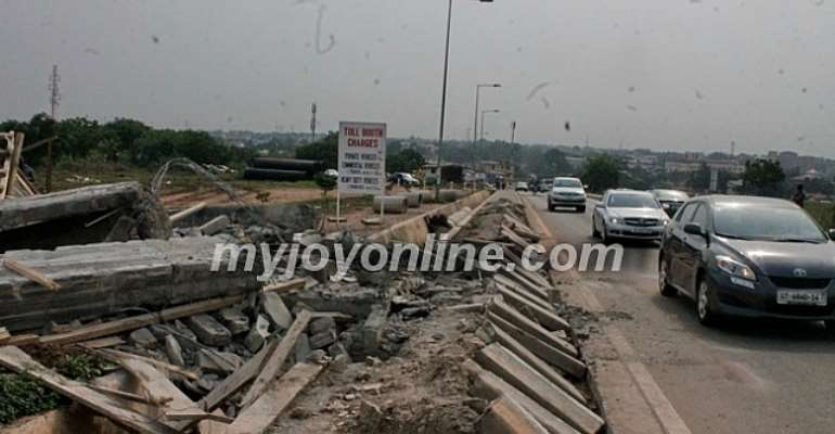 New structure not toll booth but 'security observation post' - Univ. of Ghana