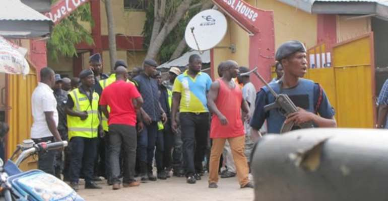 Angry NPP activists stop meeting by Afoko, Agyepong