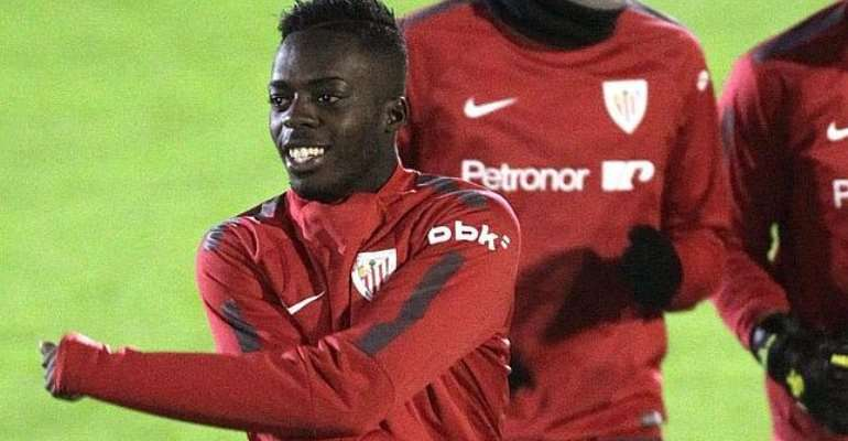 Inaki Williams has been called up into the Spanish U21 team