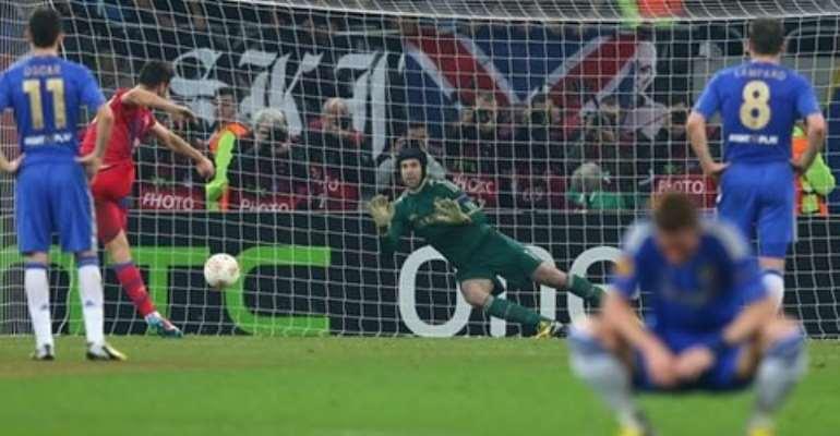 Below-par Chelsea beaten in Romania