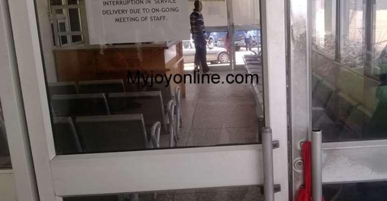Korle-bu wards deserted as health workers go on strike